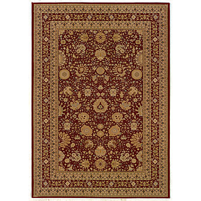 Kane Carpet Regency 2 x 8 runner Agra Red 5008/35