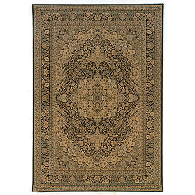 Kane Carpet Regency 2 x 3 Kirman Charcoal 5002/80