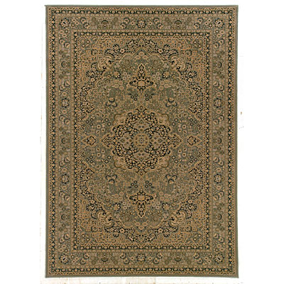 Kane Carpet Regency 2 x 3 Kirman Green 5002/65
