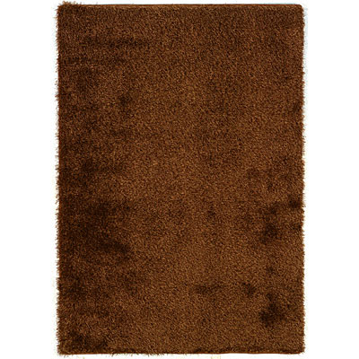 Kane Carpet Silken Desire Shag 5 x 8 Plush Chocolate 6300/75