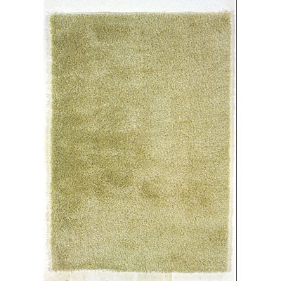 Kane Carpet Silken Desire Shag 5 x 8 Plush Honeydew 6300/60