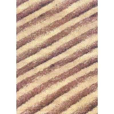 Kane Carpet Visions Shag 6 x 8 (Dropped) Diagonals Salt and Pepper 6001-01