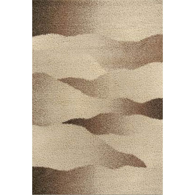 Kane Carpet Visions Shag 6 x 8 (Dropped) Waves Salt and Pepper 6004-01