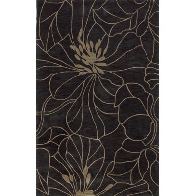 KAS Oriental Rugs. Inc. Bali 8 x 10 Bali Charcoal/Taupe Floral Chic 2816