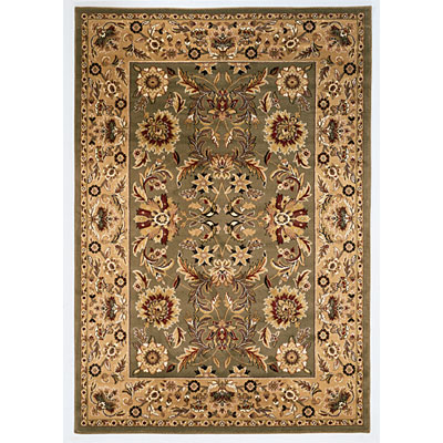KAS Oriental Rugs. Inc. Cambridge 8 x 11 Cambridge Green/Taupe Kashan 7304