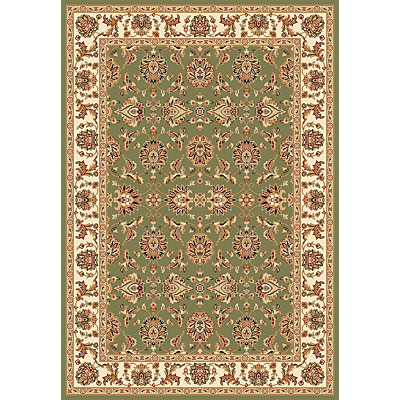 KAS Oriental Rugs. Inc. Cambridge 7 Round Cambridge Green/Ivory Kashan 7314