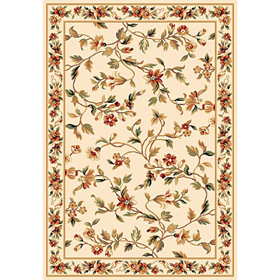 KAS Oriental Rugs. Inc. Cambridge 2 x 3 Cambridge Ivory Floral Vine 7331