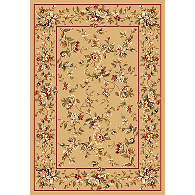 KAS Oriental Rugs. Inc. Cambridge 2 x 2 Cambridge Beige Floral Delight 7338