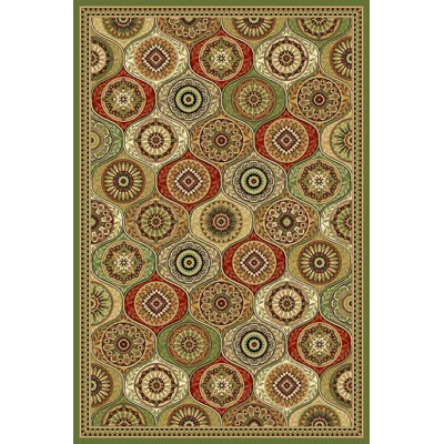 KAS Oriental Rugs. Inc. Cambridge 8 x 11 Multi Mosaic Panel 7345