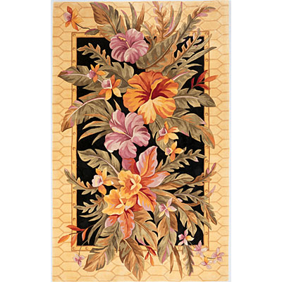 KAS Oriental Rugs. Inc. Catalina Runner 2 x 8 Catalina Black Orchid Paradise 755