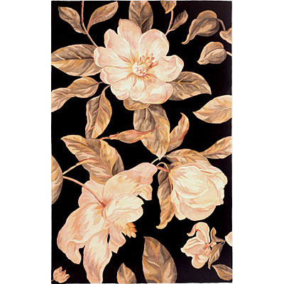 KAS Oriental Rugs. Inc. Catalina Runner 2 x 8 Catalina Black Magnolia 761