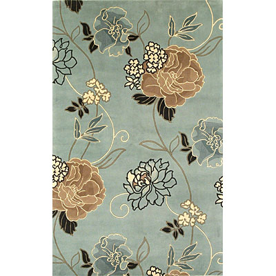 KAS Oriental Rugs. Inc. Catalina Runner 2 x 8 Catalina Blue/Beige Paradise 765