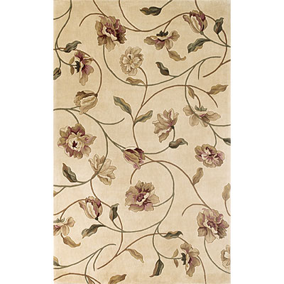 KAS Oriental Rugs. Inc. Catalina 3 x 4 Catalina Ivory Floral Chic 787