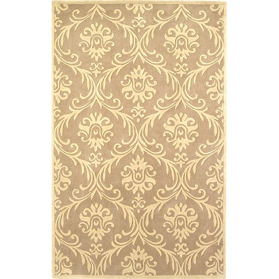 KAS Oriental Rugs. Inc. Chateau 6 Round Chateau Beige/Ivory Luxor 3615