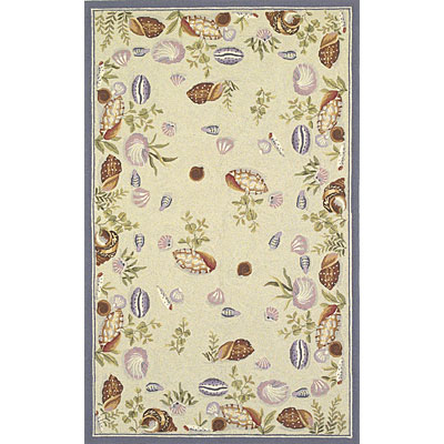 KAS Oriental Rugs. Inc. Colonial 3 x 4 Oval Colonial Lt. Green Seashell Fun 1803