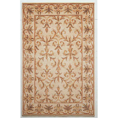 KAS Oriental Rugs. Inc. Emerald 2 x 3 Emerald Ivory Scroll 9011