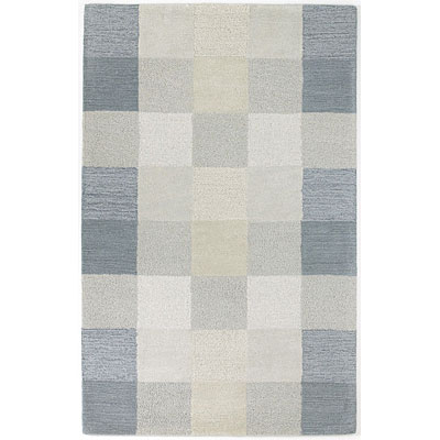 KAS Oriental Rugs. Inc. Eternity 2 x 4 Eternity Seaside Checkerboard 1081