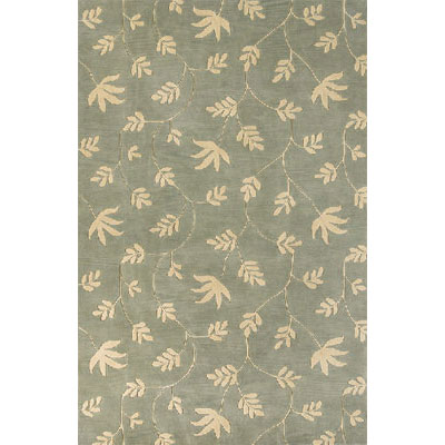 KAS Oriental Rugs. Inc. Fiore Runner 2 x 8 Sea Ivory Vines 3711