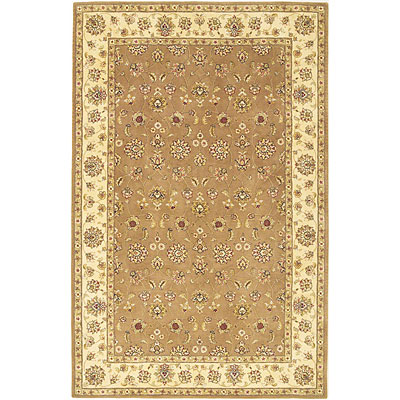 KAS Oriental Rugs. Inc. Imperial 3 x 5 Imperial Taupe/Ivory All-over Tabriz 1613