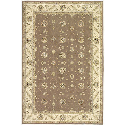 KAS Oriental Rugs. Inc. Imperial 8 x 10 Imperial Taupe/Ivory All-over Tabriz 1672
