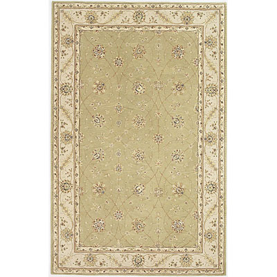 KAS Oriental Rugs. Inc. Imperial 8 x 10 Imperial Pistachio/Ivory All-over Tabriz 1675