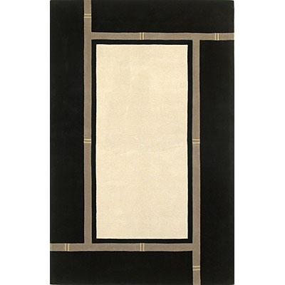 KAS Oriental Rugs. Inc. Indira Runner 2 x 8 Indira White/Black View 2310