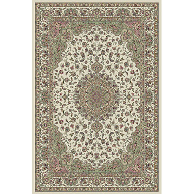 KAS Oriental Rugs. Inc. Kensington 3 x 5 Kensington Ivory Regal Medallion 7717