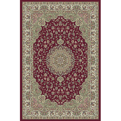 KAS Oriental Rugs. Inc. Kensington 3 x 5 Kensington Red/Ivory Regal Medallion 7719