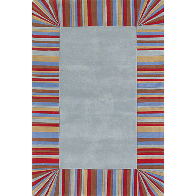 KAS Oriental Rugs. Inc. Kidding Around 3 Round Kidding Around Blue/Multi Showtime 418