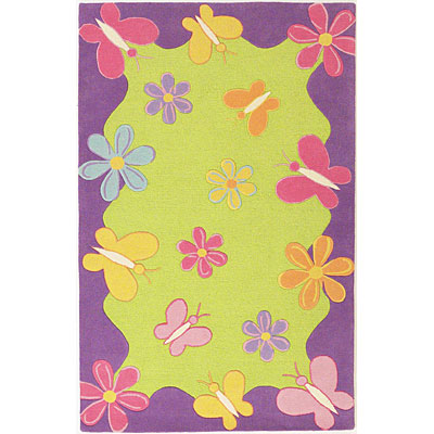 KAS Oriental Rugs. Inc. Kidding Around 3 Round Kidding Around Springtime Fun 421