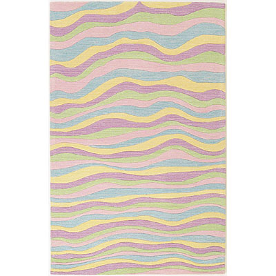 KAS Oriental Rugs. Inc. Kidding Around 8 x 10 Kidding Around Pastel Waves 425
