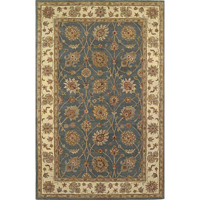 KAS Oriental Rugs. Inc. Lake Palace 5 Round Lake Palace Wedgewood/Ivory All-over Tabriz 923