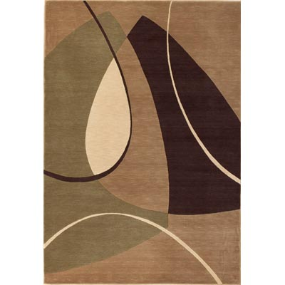 KAS Oriental Rugs. Inc. Legacy Contemporary 5 Round Beige Eternity 5903