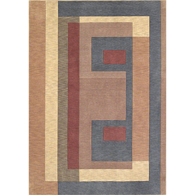 KAS Oriental Rugs. Inc. Legacy Contemporary 5 x 7 Legacy Wedgewood/Gold Visions 5900