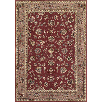KAS Oriental Rugs. Inc. Legacy Traditional 8 x 11 Legacy Rust/Coffee Mahal 5928