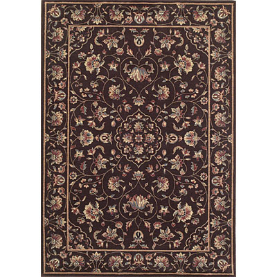 KAS Oriental Rugs. Inc. Legacy Traditional 8 x 11 Legacy Chocolate Floral Polynaise 5931