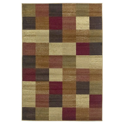 KAS Oriental Rugs. Inc. Lifestyles Contemporary 8 Round Beige Squares 5426