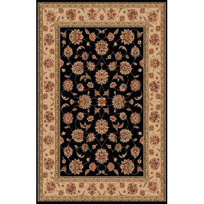 KAS Oriental Rugs. Inc. Manchester 2 x 3 Black Ivory Mahal 5405