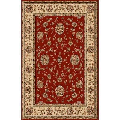 KAS Oriental Rugs. Inc. Manchester 2 x 3 Bordeaux Ivory Agra 5414
