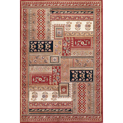 KAS Oriental Rugs. Inc. Mandalay 5 x 7 Mandalay Red Floral Multi-Panel 7900