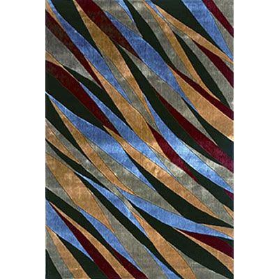KAS Oriental Rugs. Inc. Pellagio Runner 2 x 7 Pellagio Multicolor Deep Sea 7804