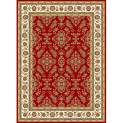 KAS Oriental Rugs. Inc. Seville 3 x 5 Seville Red/Ivory Sarouk 7401