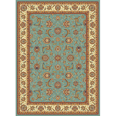 KAS Oriental Rugs. Inc. Seville 3 x 5 Seville Wedgewood Blue/Ivory Mahal 7407