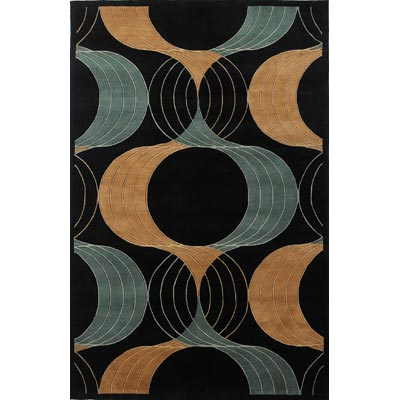 KAS Oriental Rugs. Inc. Signature 5 x 8 Signature Black Prism Views 9148