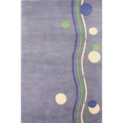 KAS Oriental Rugs. Inc. Signature 8 Round Signature Lavender Bubbly 9155