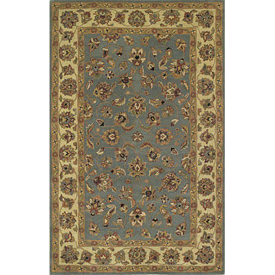 KAS Oriental Rugs. Inc. Sonoma 3 x 5 Sonoma Wedgewood/Ivory All-over Kashan 2900