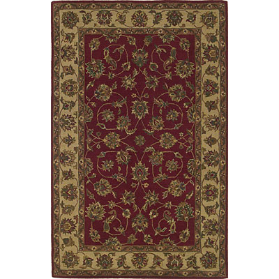 KAS Oriental Rugs. Inc. Sonoma 2 x 3 Sonoma Red/Ivory All-over Kashan 2901