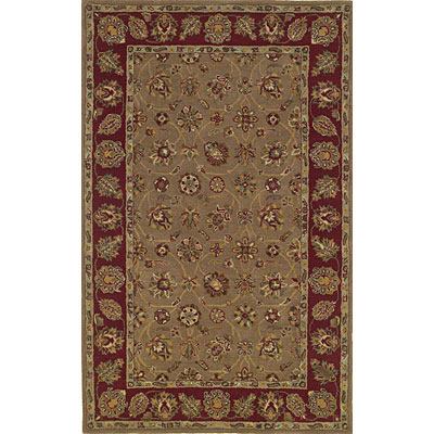 KAS Oriental Rugs. Inc. Sonoma 8 x 10 Sonoma Coffee/Red Tabriz 2907