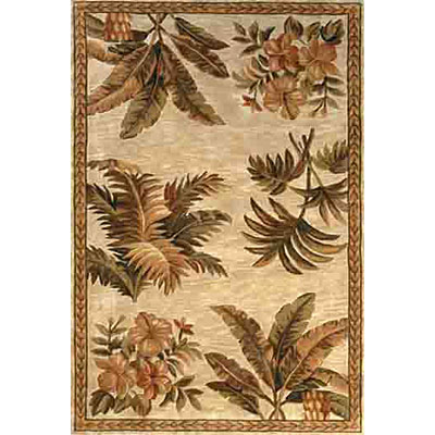 KAS Oriental Rugs. Inc. Sparta 9 x 12 Sparta Ivory Tropical Oasis 3133