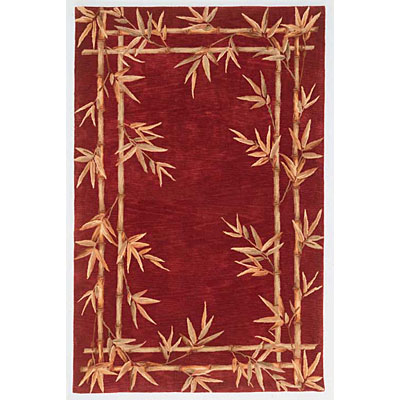 KAS Oriental Rugs. Inc. Sparta 4 x 6 Sparta Red Bamboo Double Border 3145